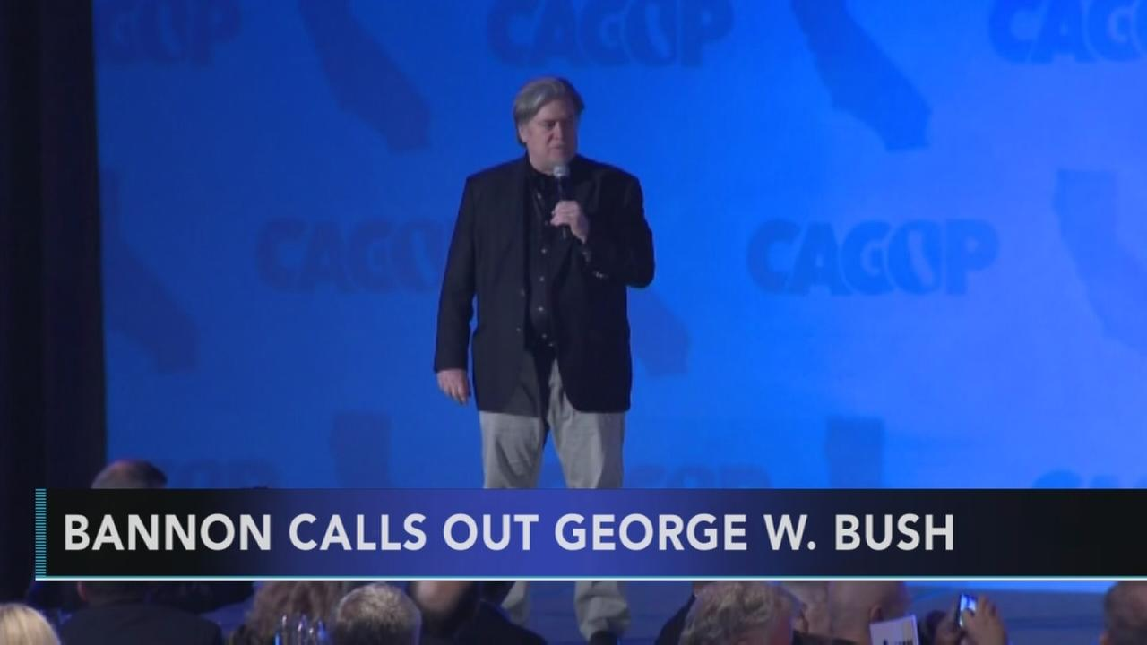 Bannon faults George W. Bush for destructive presidency
