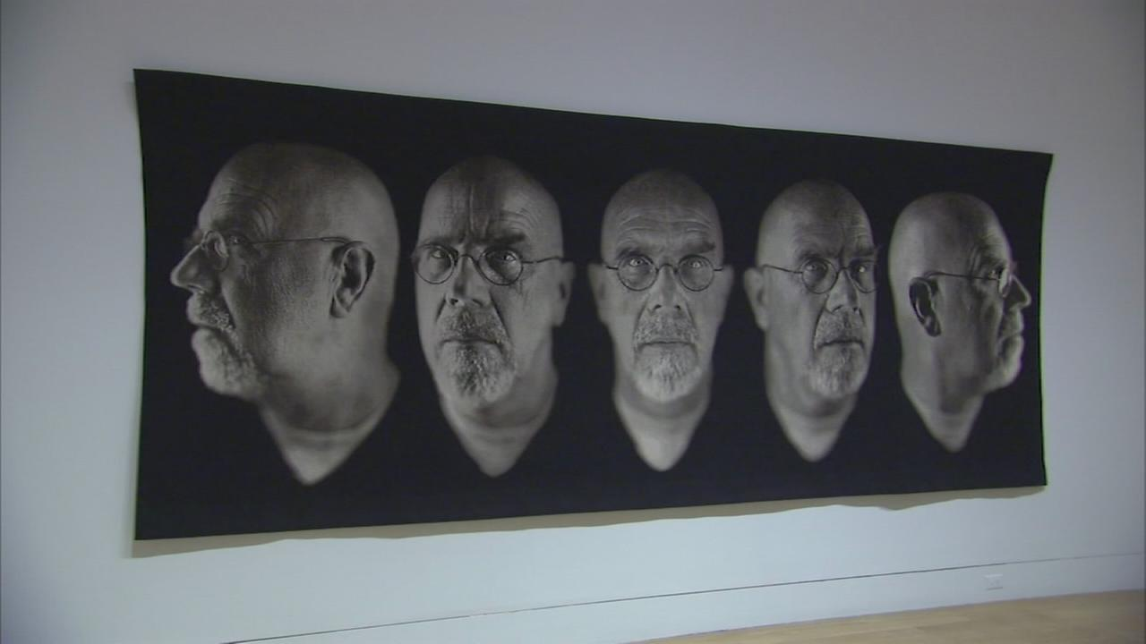 6abc Loves the Arts: PAFA presents Chuck Close Photographs