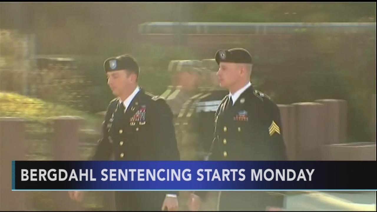 Bergdahl sentencing starts Monday