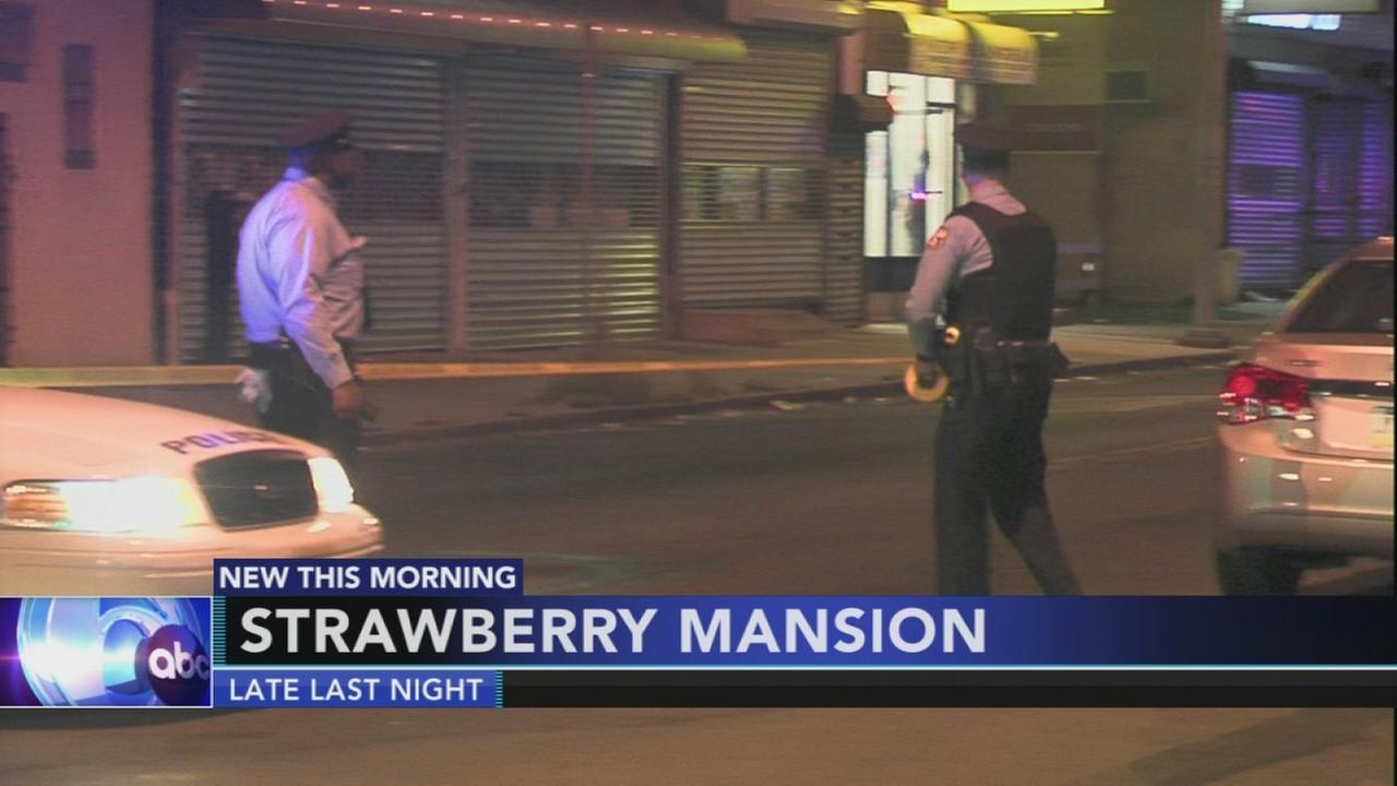 Police investigate Strawberry Mansion shooting