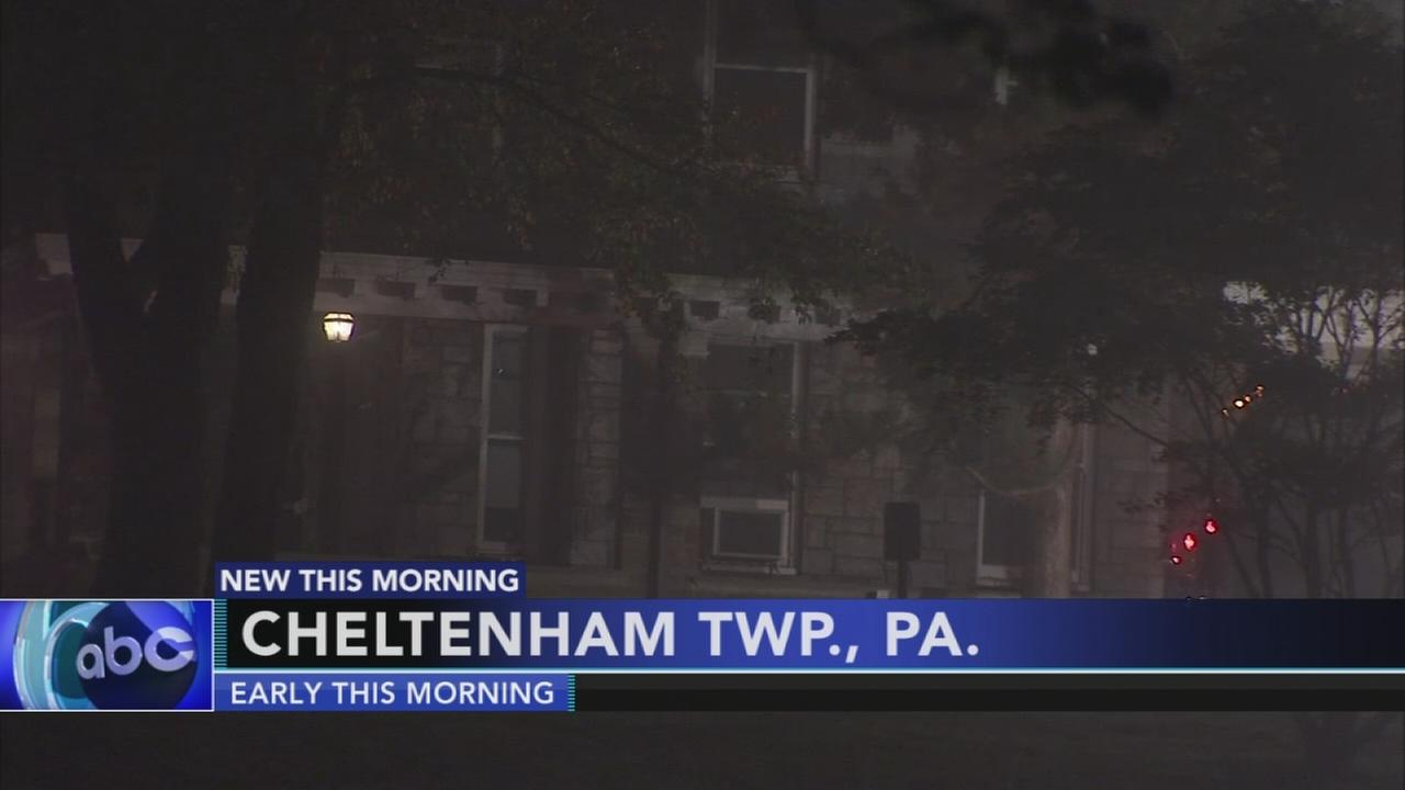 Seminary fire in Cheltenham Township