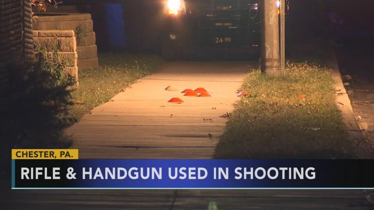Quadruple shooting in Chester