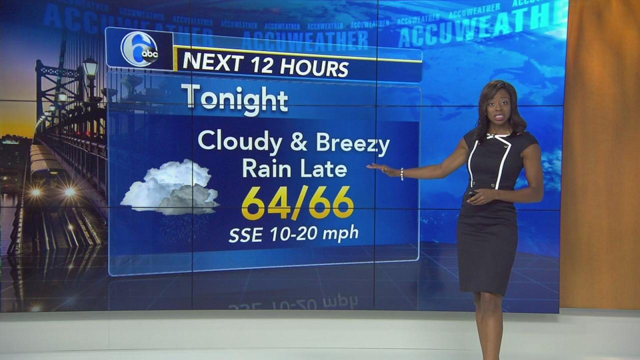 Melissa Magee wtih AccuWeather