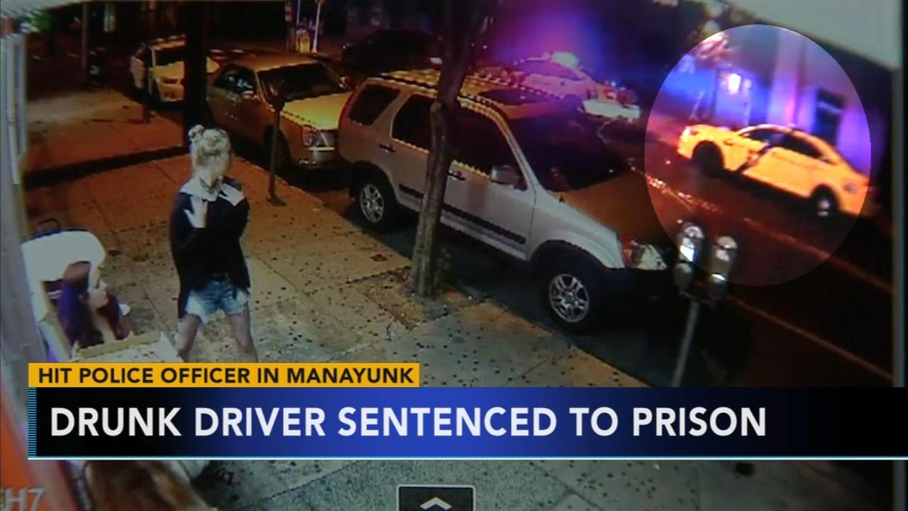 Man convicted of hitting officer in Manayunk sentenced