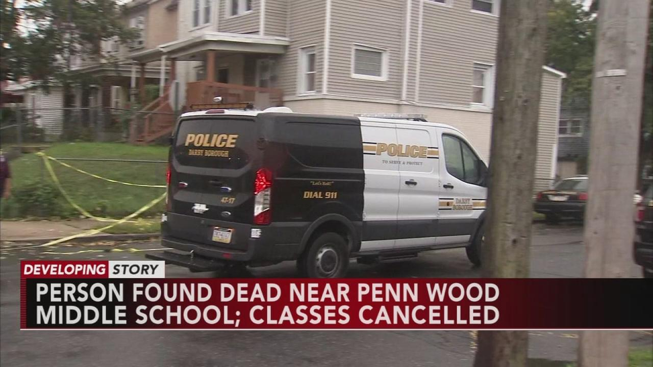 Classes cancelled after body found