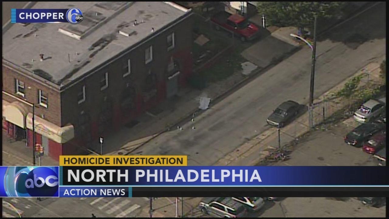 Man shot and killed in North Philadelphia