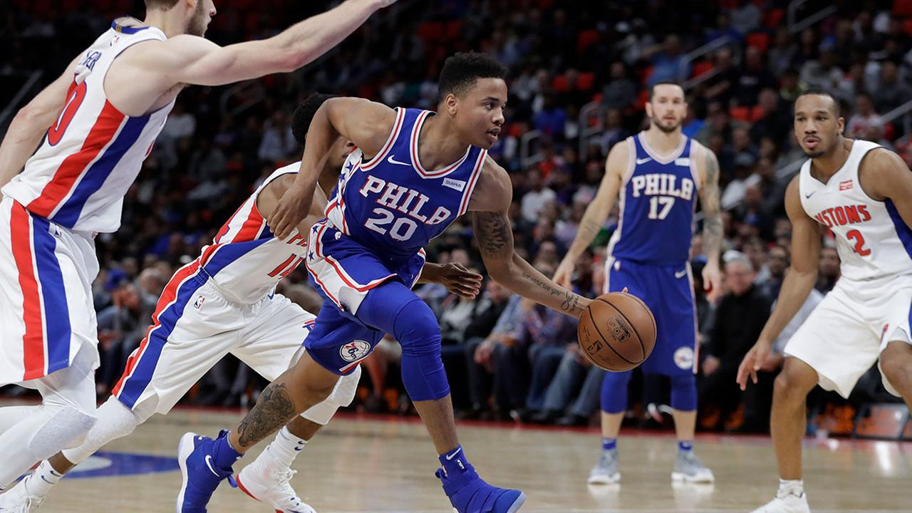 Sixers rookie Markelle Fultz, who is shooting 33 percent from the floor, had fluid drained from the back of his right shoulder and will soon visit a specialist, his agent told ESPN