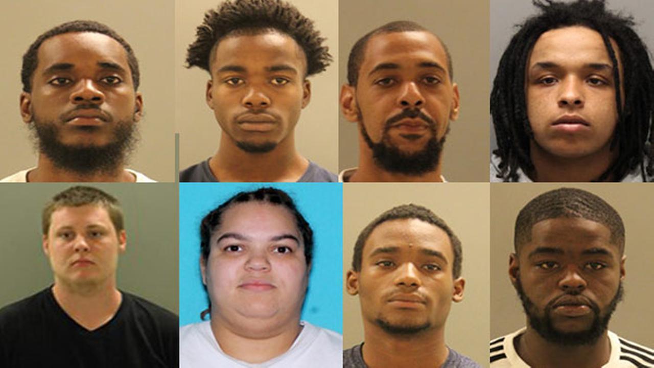 Raids, arrests target drug, gang activity in Edgemoor, Delaware