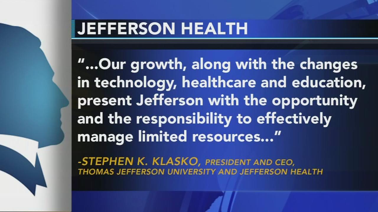 Jefferson Health announces job cuts