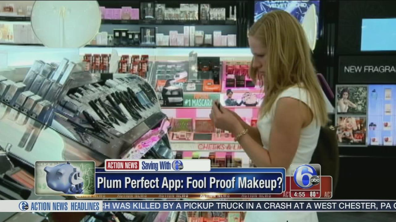 VIDEO: App helps find your makeup match