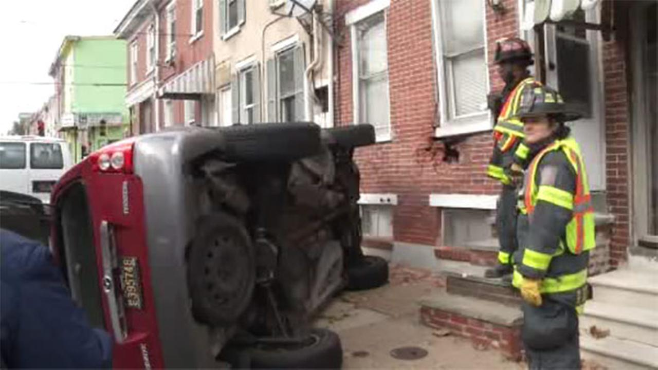 Vehicle crashes into Wilmington home