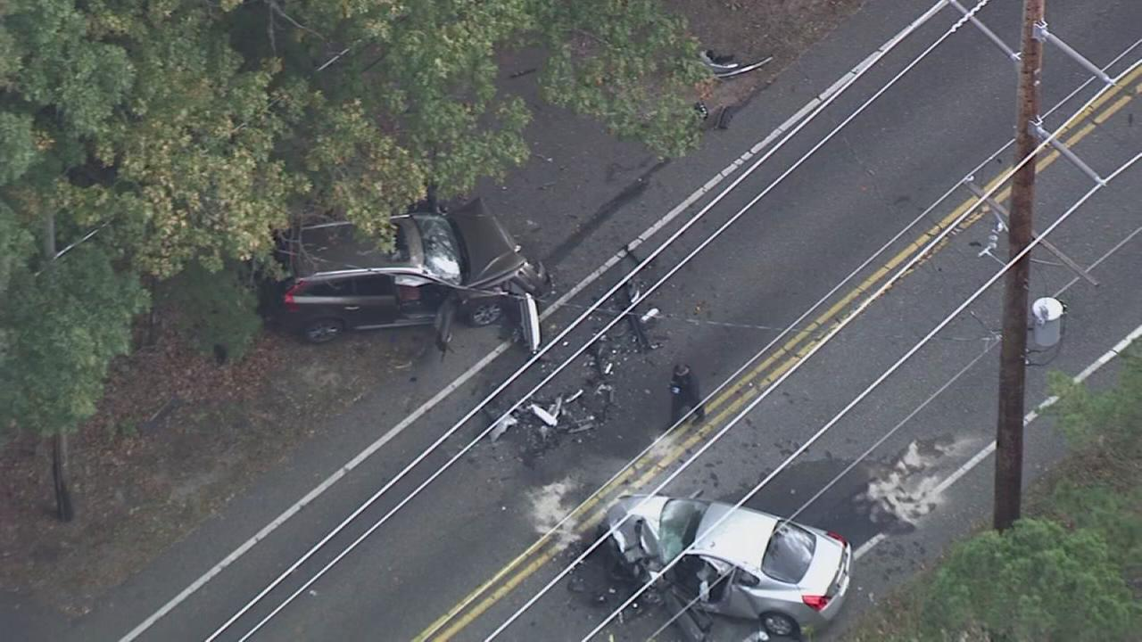 3 people injured in Salem County head-on collision