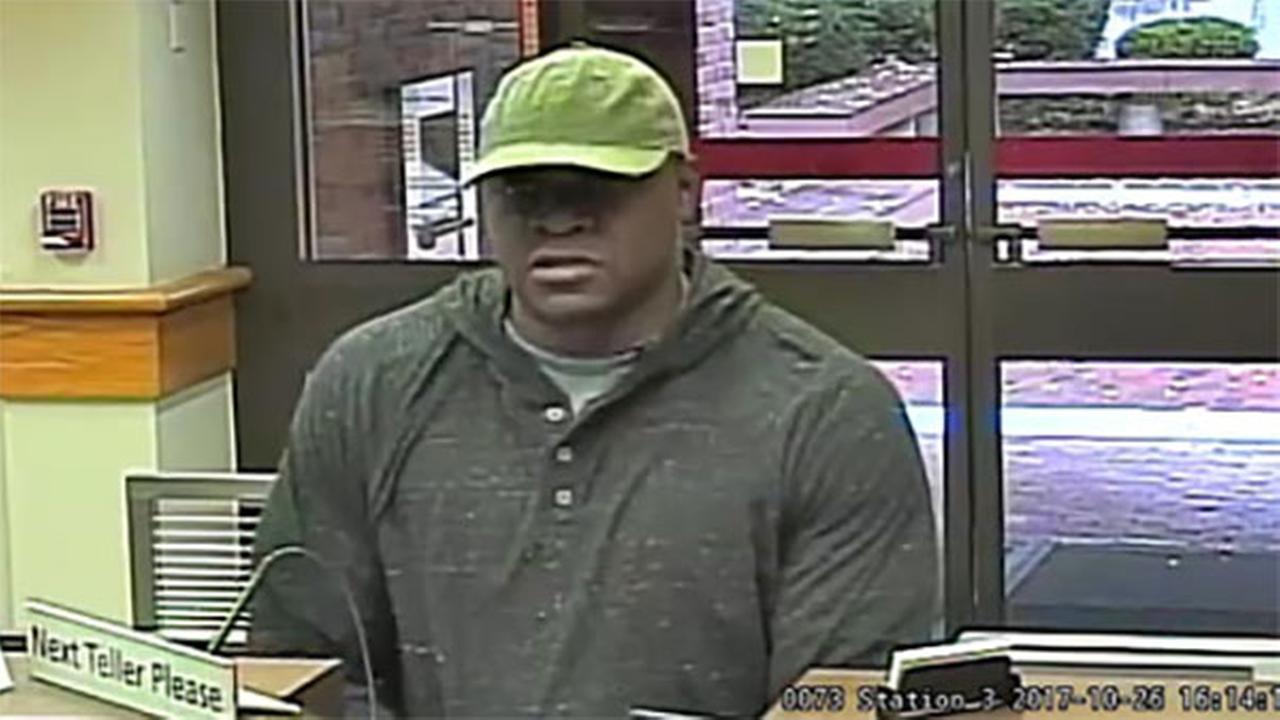 Princeton police seek bank robber