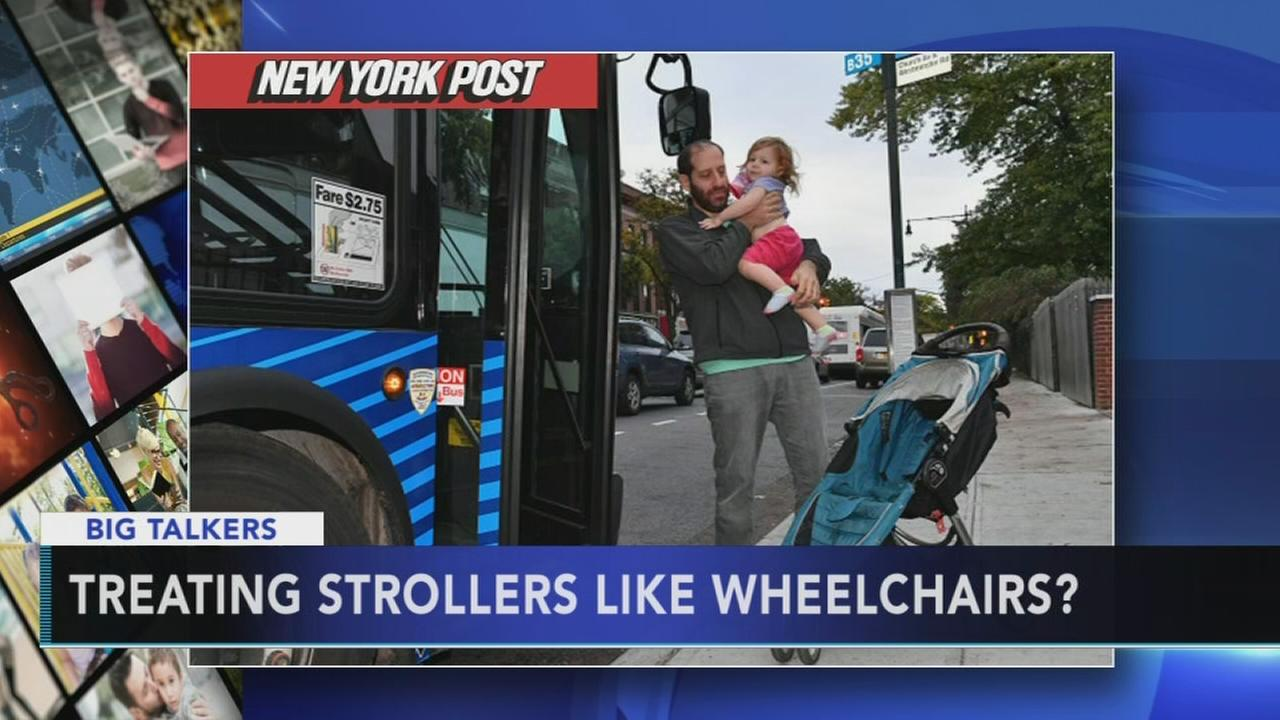 VIDEO: Strollers on subway