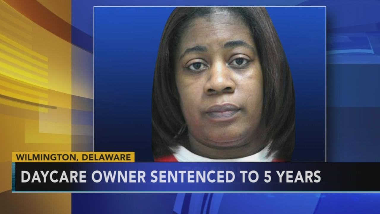 Del. daycare owner sentenced to 5 yrs. for childs death