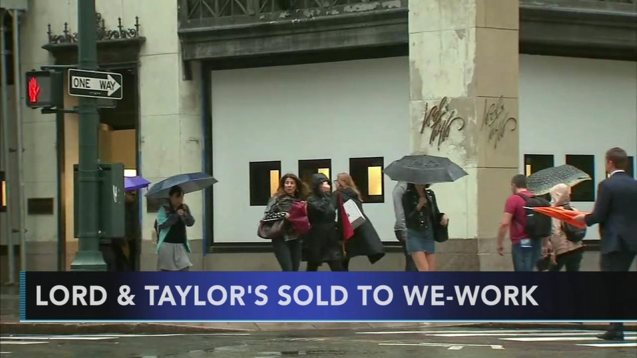 Lord and Taylor to sell its flagship Fifth Avenue store