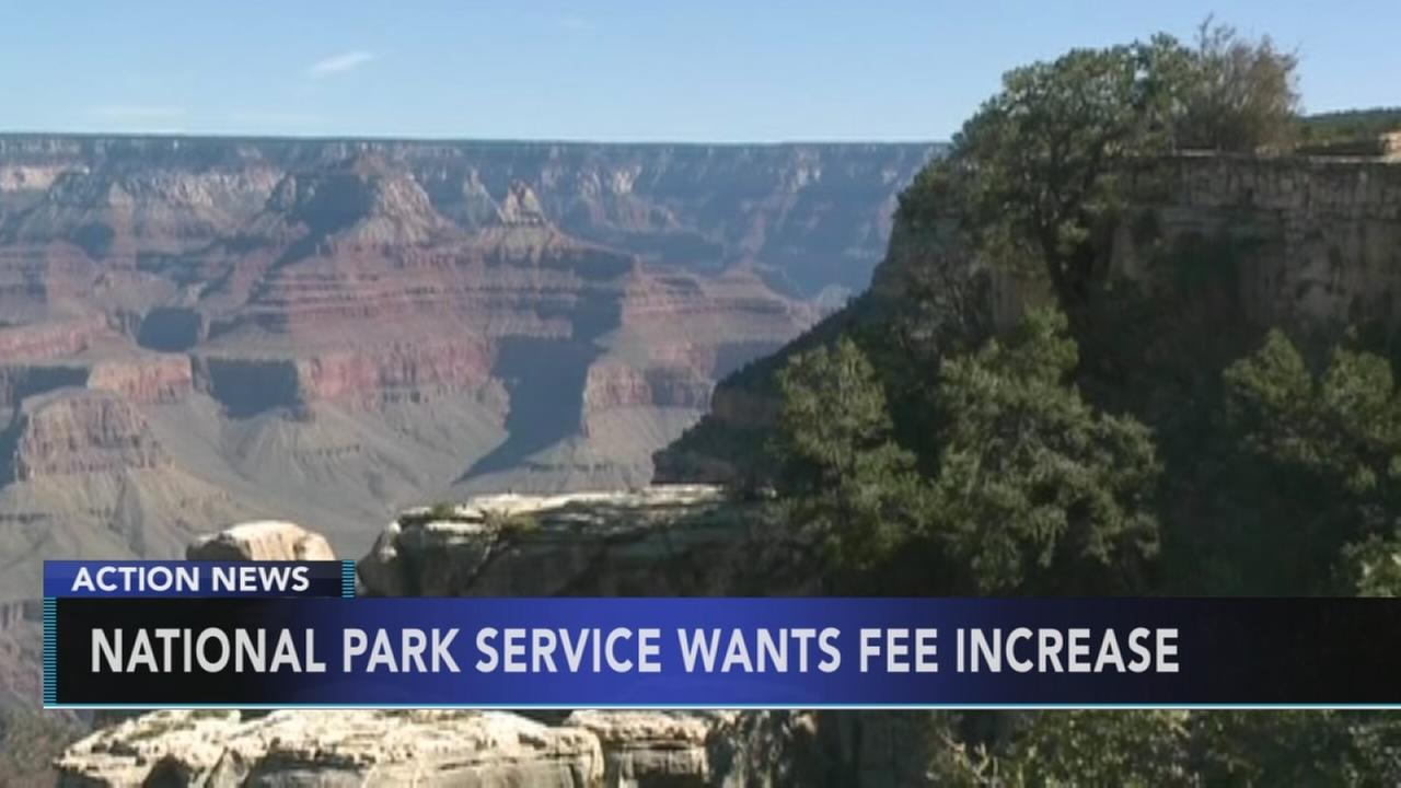 National Park Service to double entrance fees at some popular parks