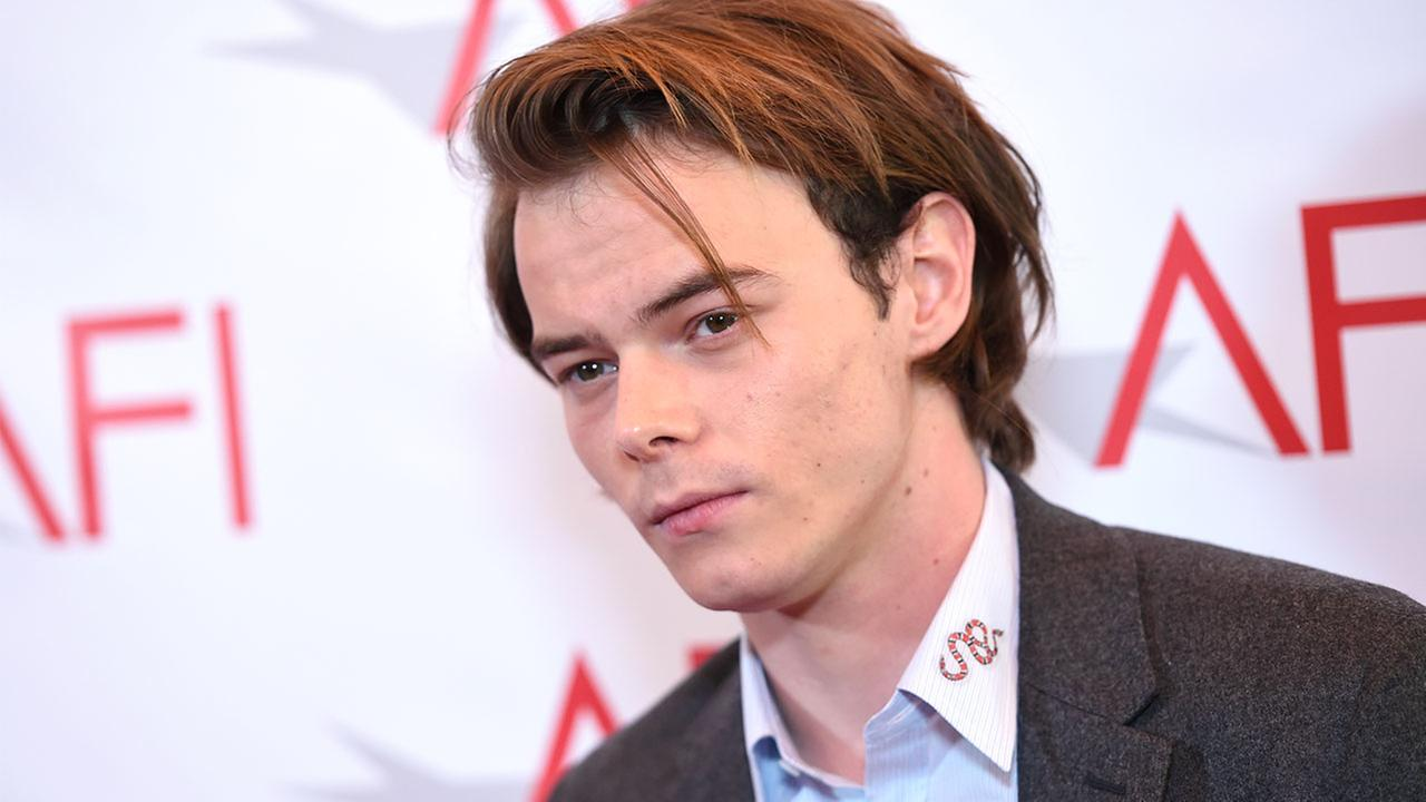 A law enforcement official says Stranger Things actor Charlie Heaton was denied entry into the U.S. last week after trace amounts of cocaine were found in his luggage.