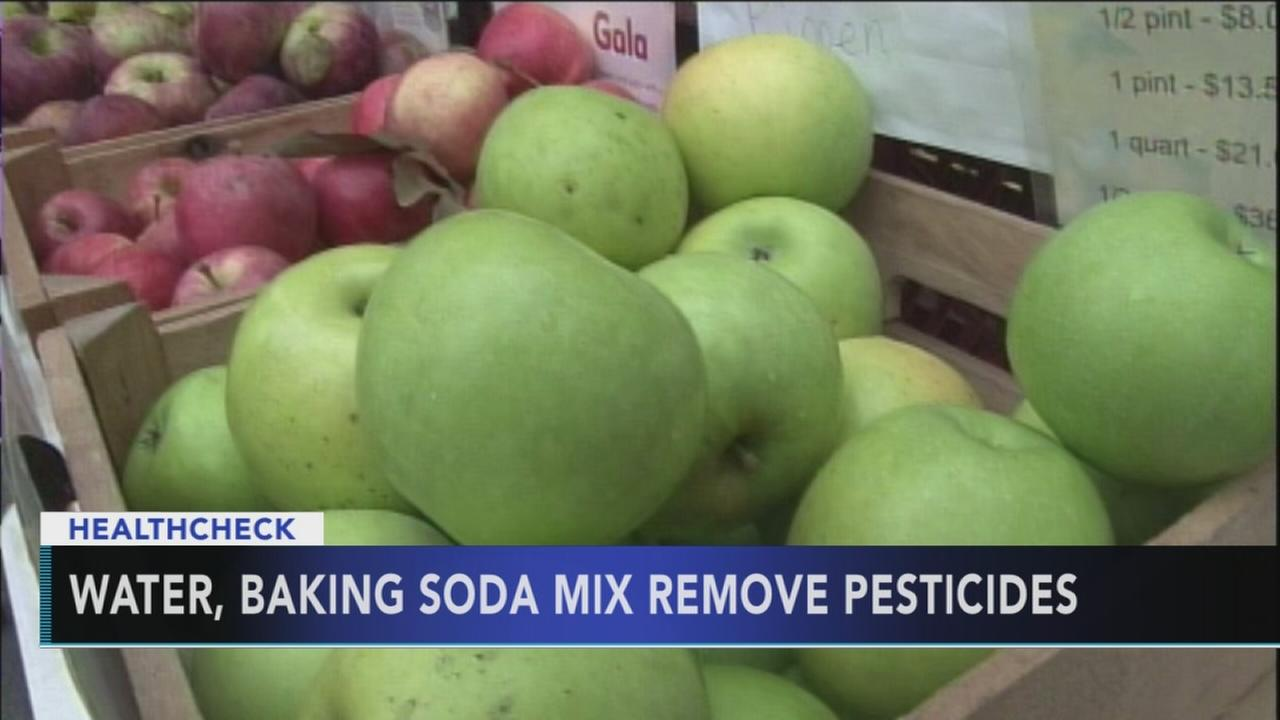 Study: Washing apples with water may not wash away pesticides