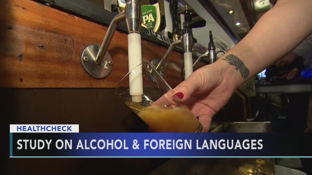 New study finds alcohol could help improve foreign language skills