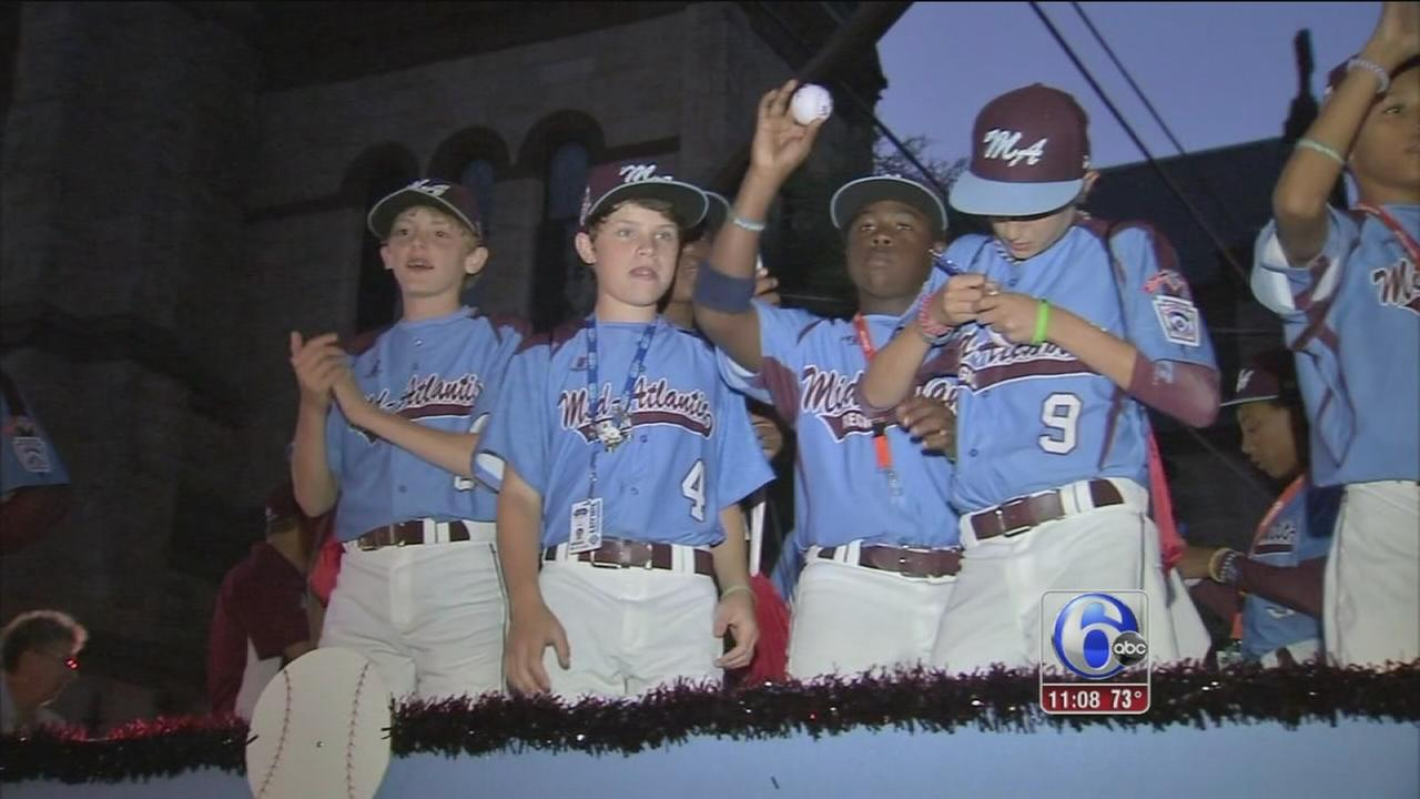 VIDEO: Taney Dragons in Williamsport for LLWS festivities