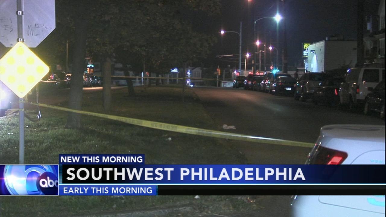 Deadly shooting in Southwest Philadelphia