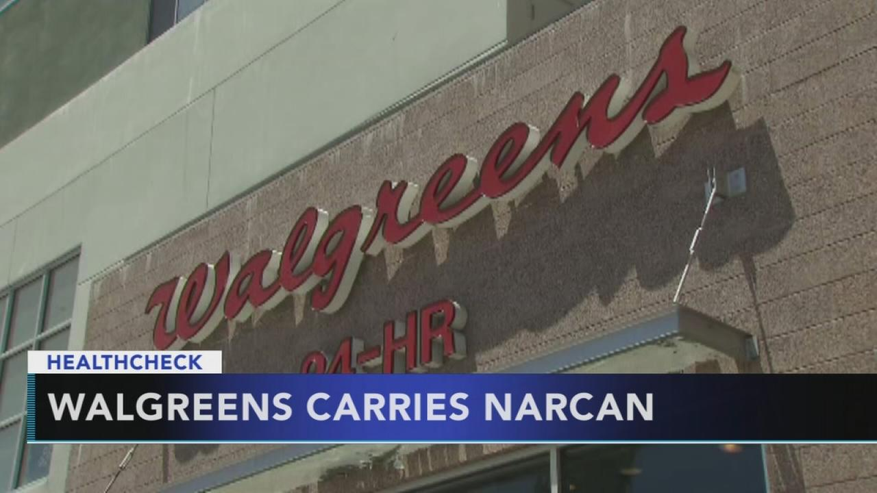 Walgreens to stock opioid-reversal drug Narcan