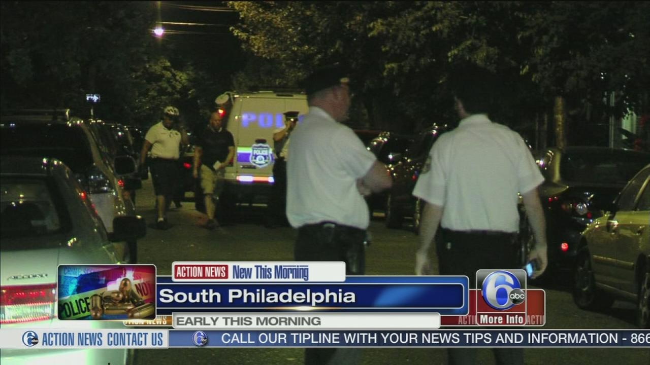 VIDEO: 2 teens shot in South Phila.