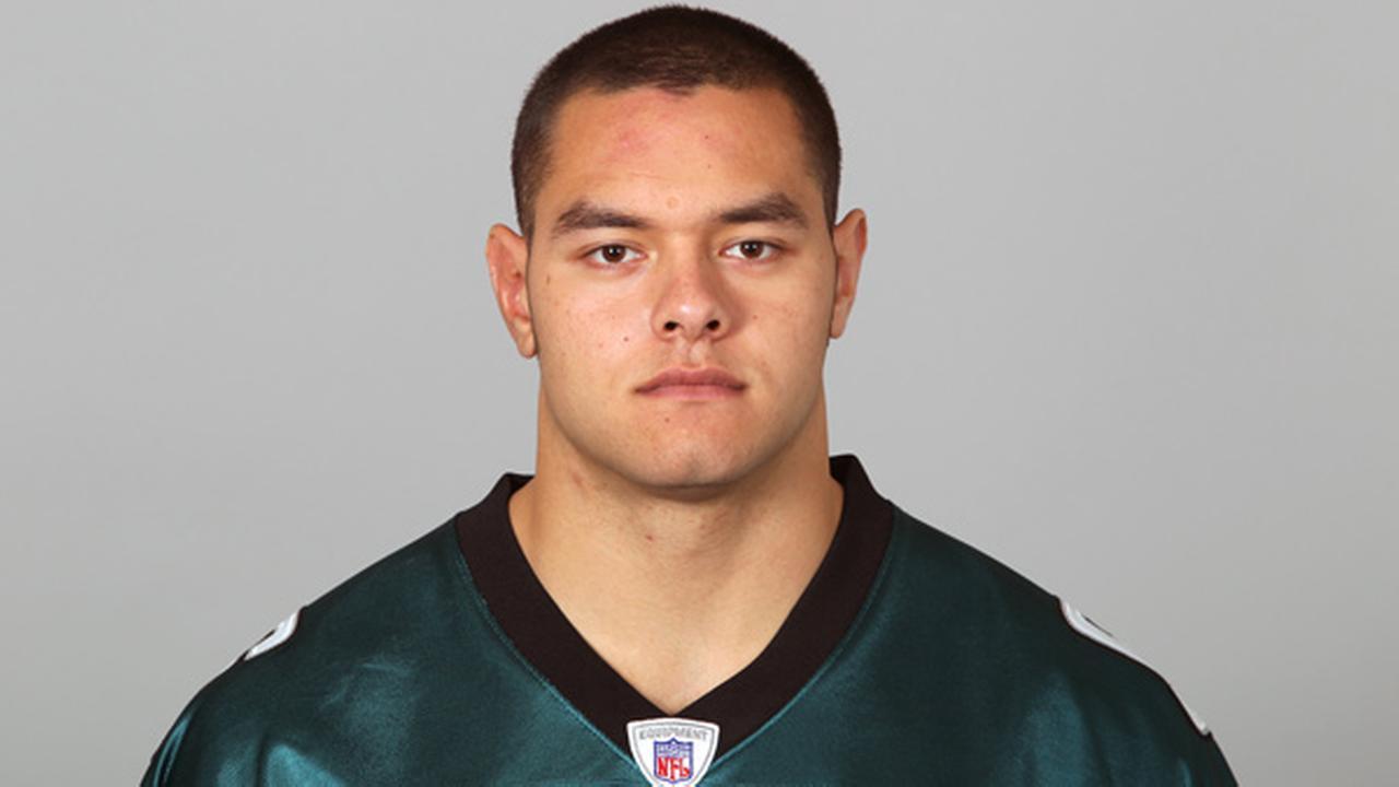 FILE: This is a photo of Daniel Teo-Nesheim of the Philadelphia Eagles NFL football team on Wednesday, Aug. 24, 2011.