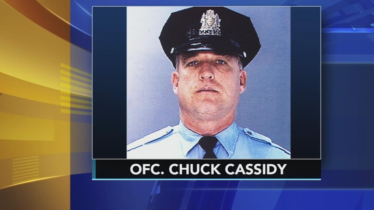 Tenth anniversary of fatal shooting of Philadelphia Police Officer Chuck Cassidy