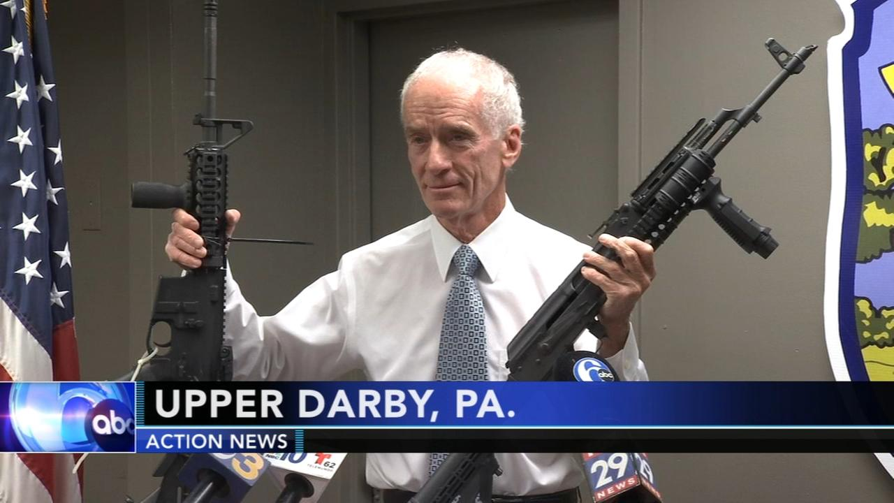 Guns seized in Upper Darby to be melted down