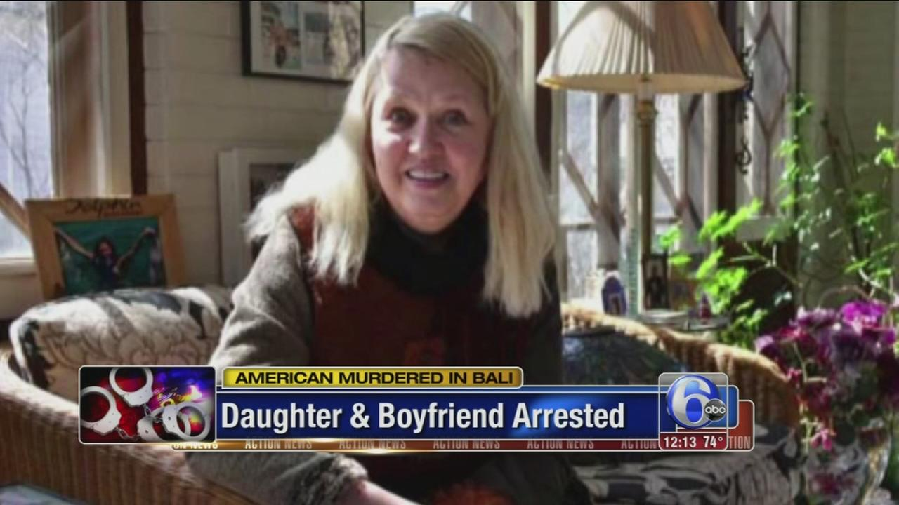 VIDEO: Daughter, boyfriend arrested