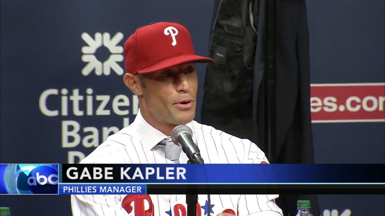 Phillies introduce new manager Gabe Kapler