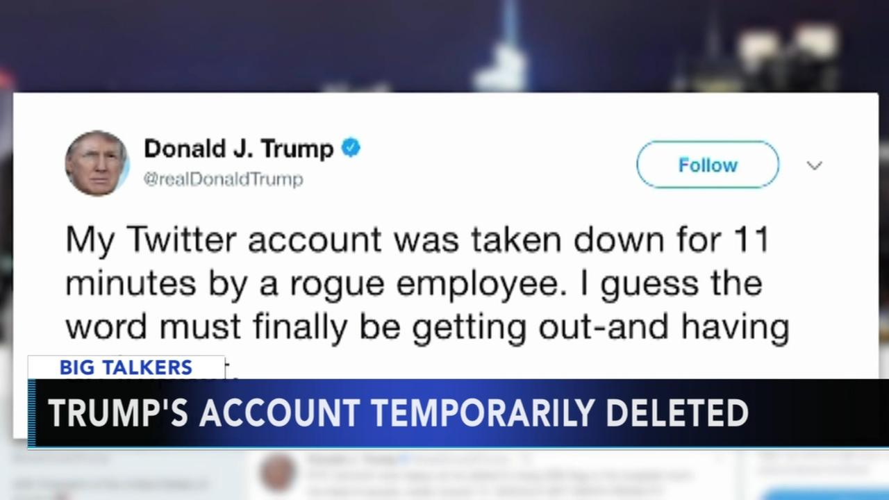 President Trumps Twitter deactivated for 11 minutes by Twitter employee