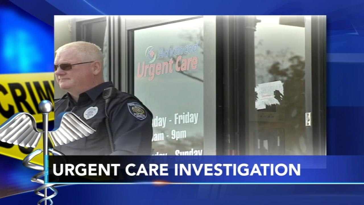 Authorities return to Willow Grove urgent care clinic