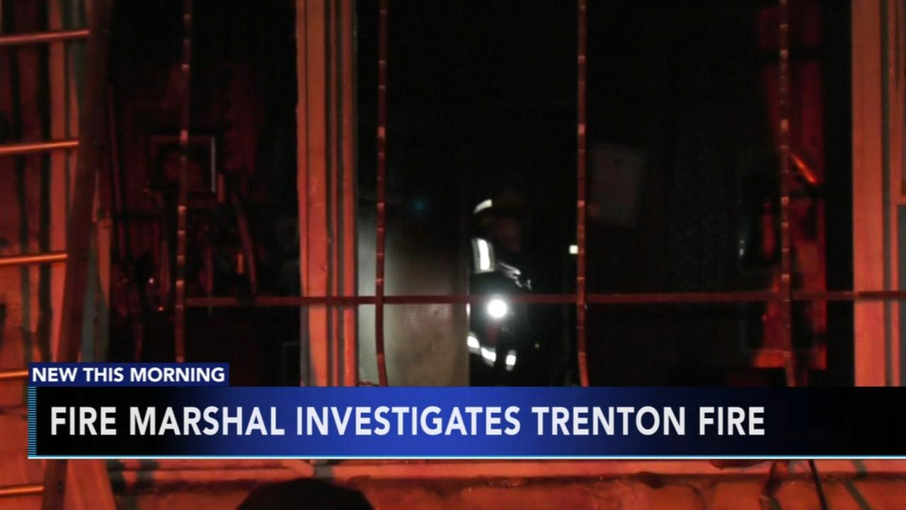 Fire Marshal investigates Trenton vacant house fire