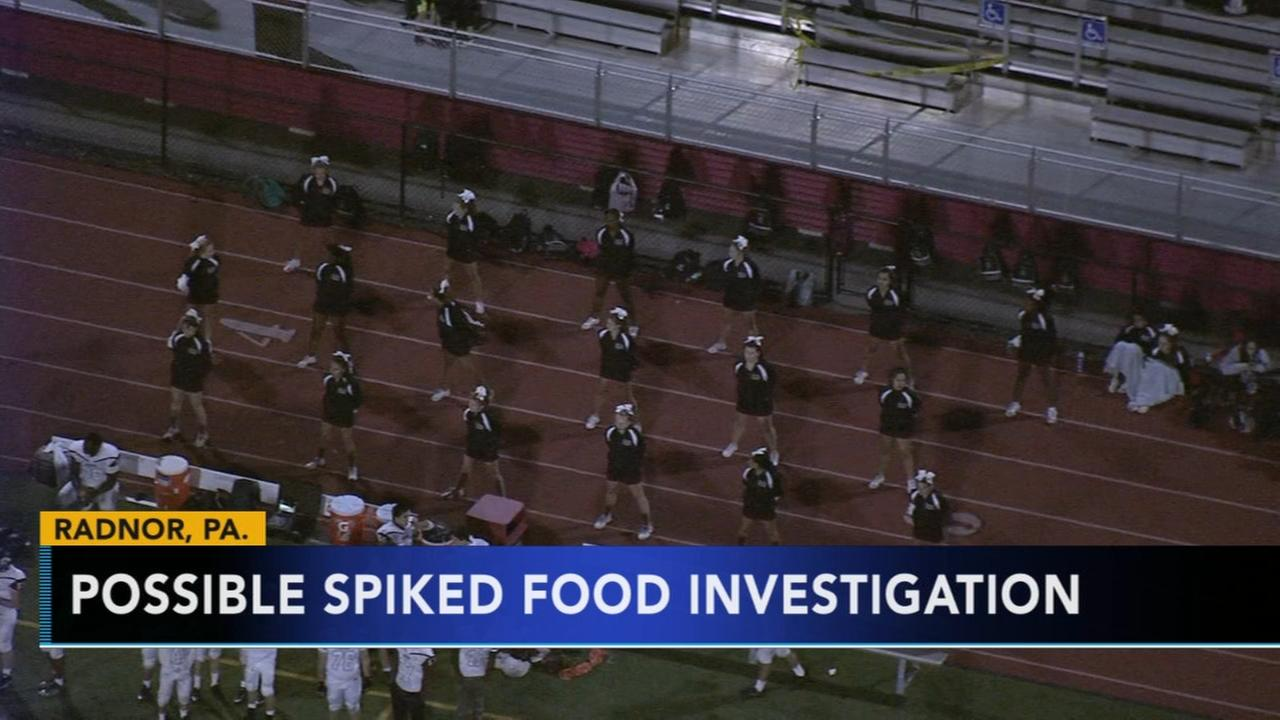 Police investigate possible spiked food at Radnor high school pep rally