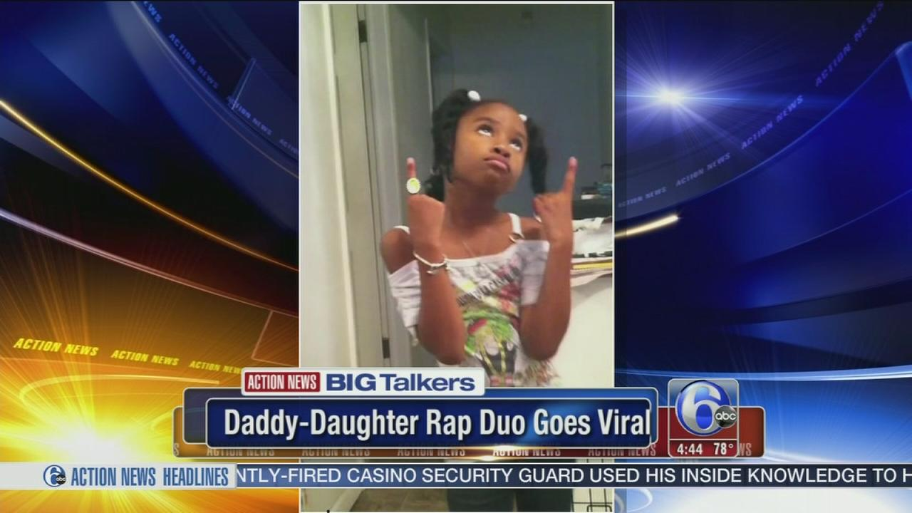 VIDEO: Daddy/daughter rap goes viral!