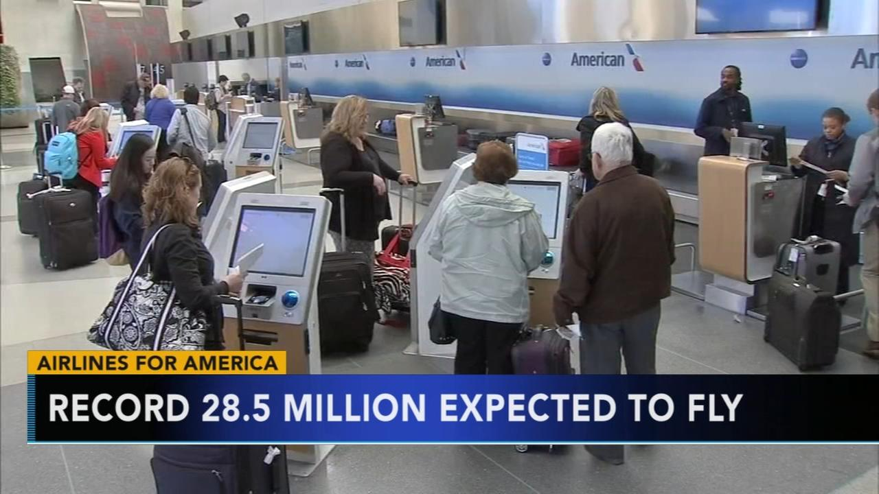 Record 28.5 million expected to fly for Thanksgiving holiday