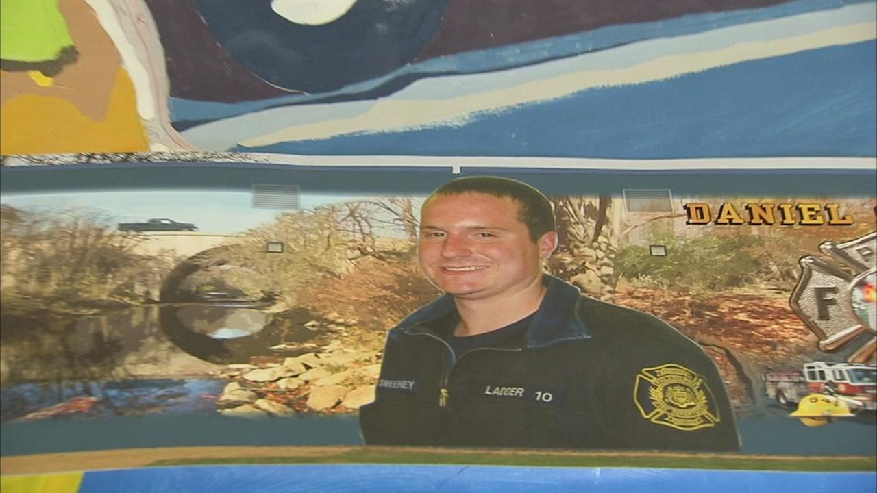 Mural for fallen Philadelphia firefighter