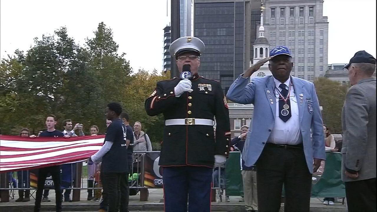 6abc airs Philadelphias Veterans Parade