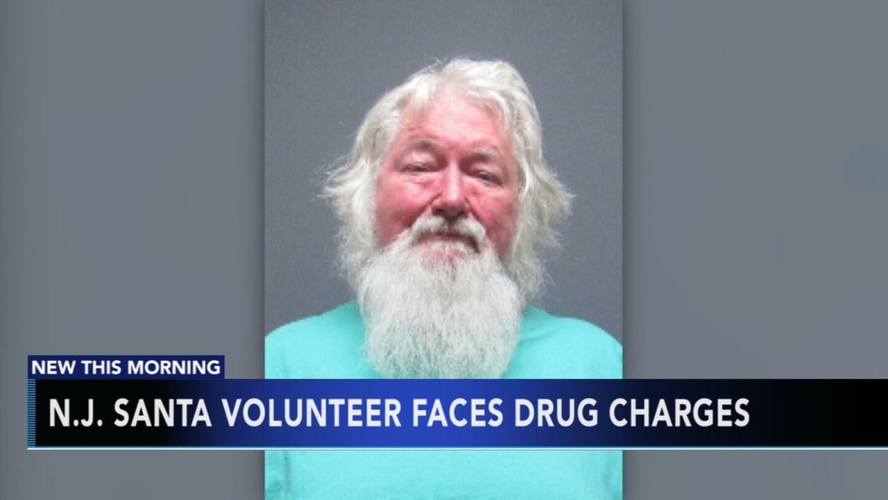 Volunteer Santa faces drug charges
