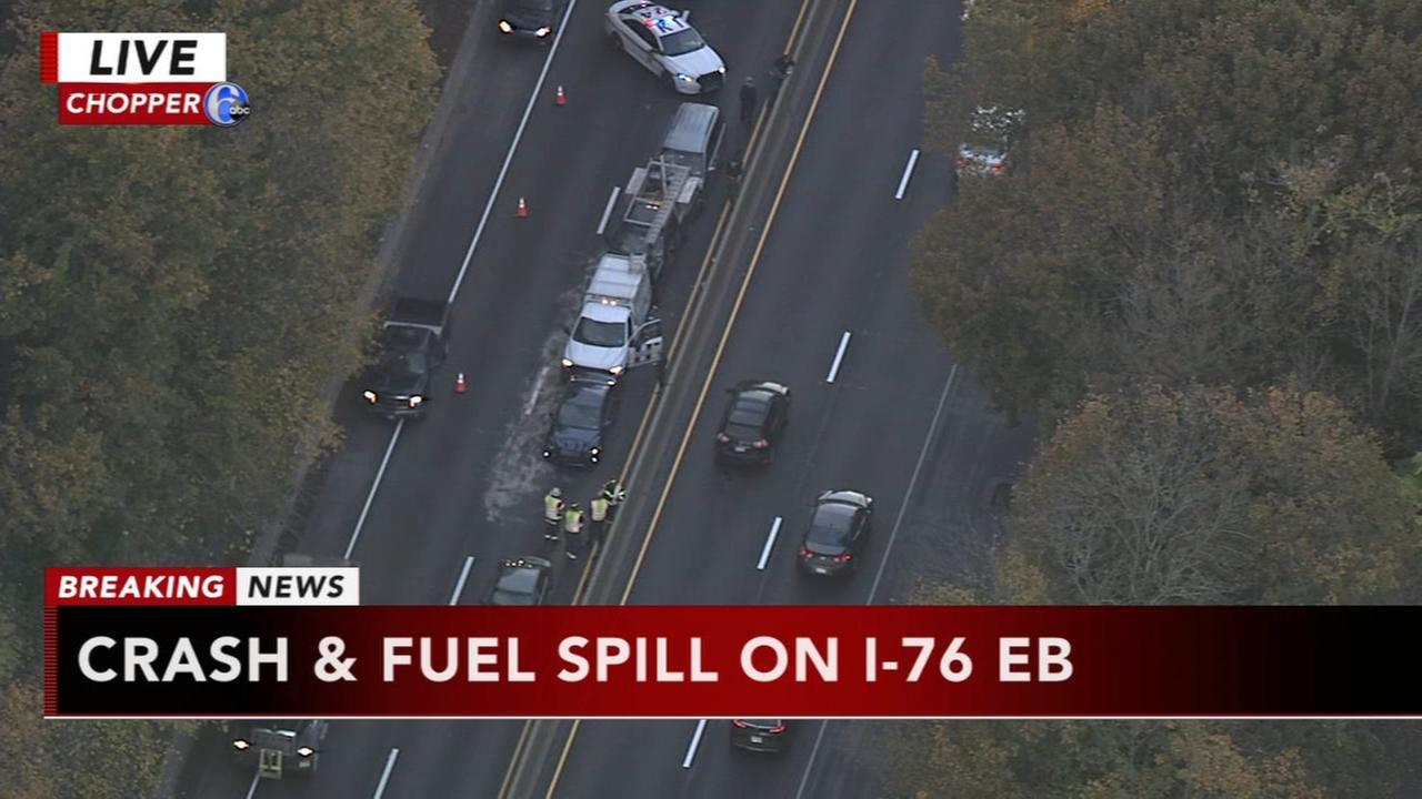 Pileup on I-76