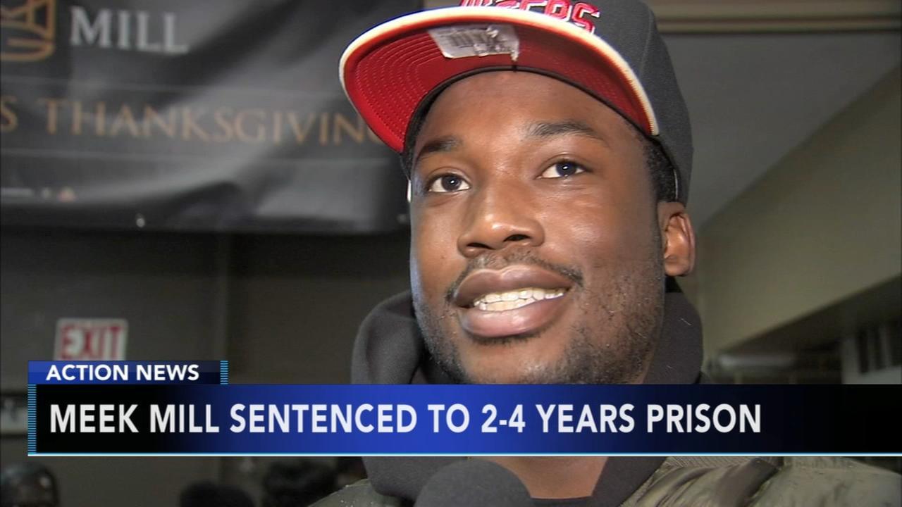 Meek Mill sentenced to prison