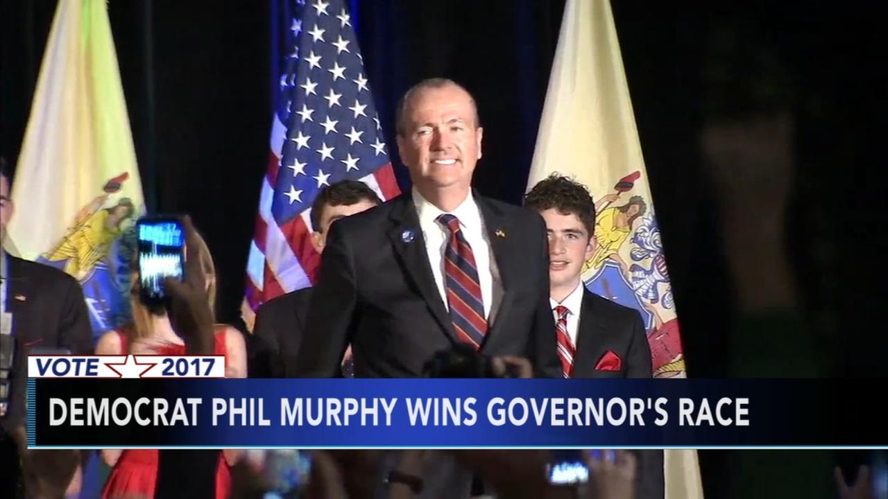 Democrat Phil Murphy wins NJ governors race