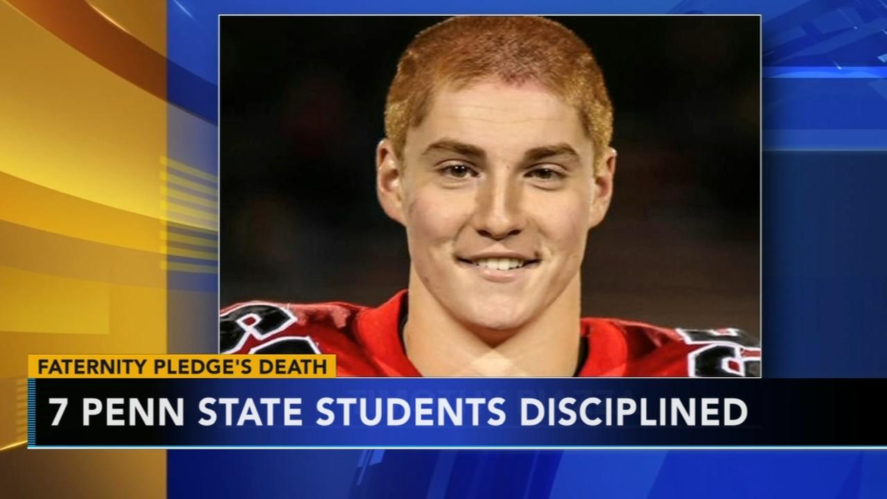 7 Penn State students disciplined