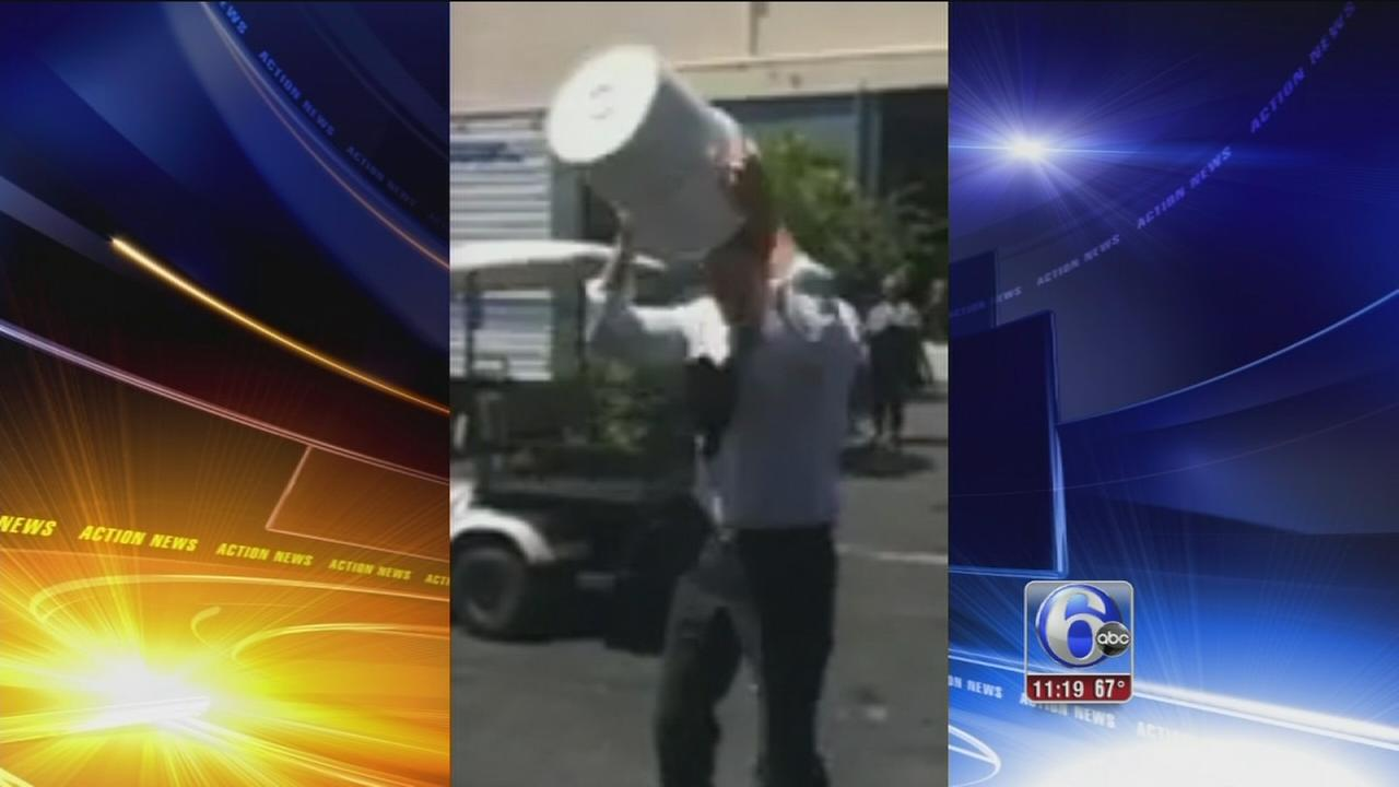 VIDEO: David Boreanaz tags Jim Gardner in ALS Ice Bucket Challenge
