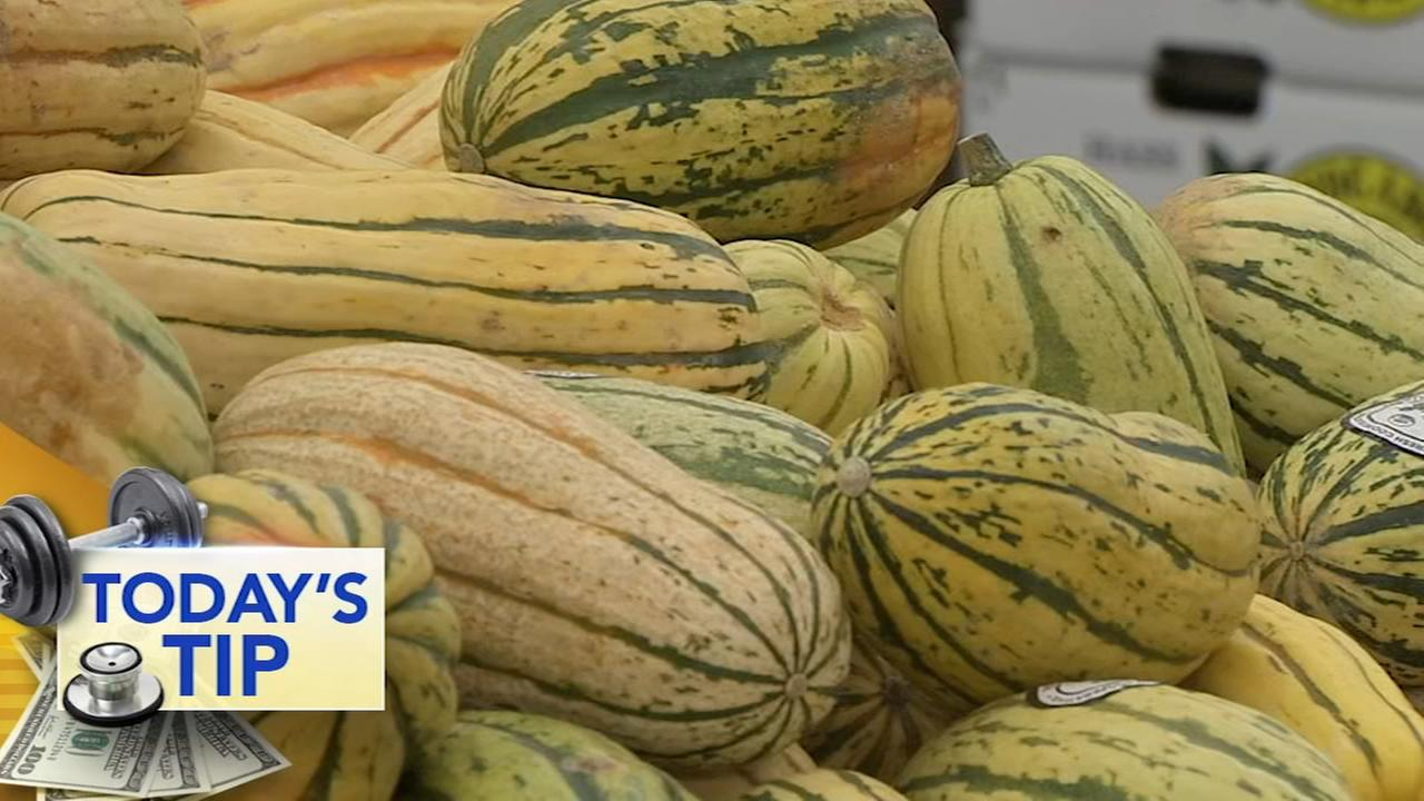 The sweet word on Delicata Squash - Todays Tip