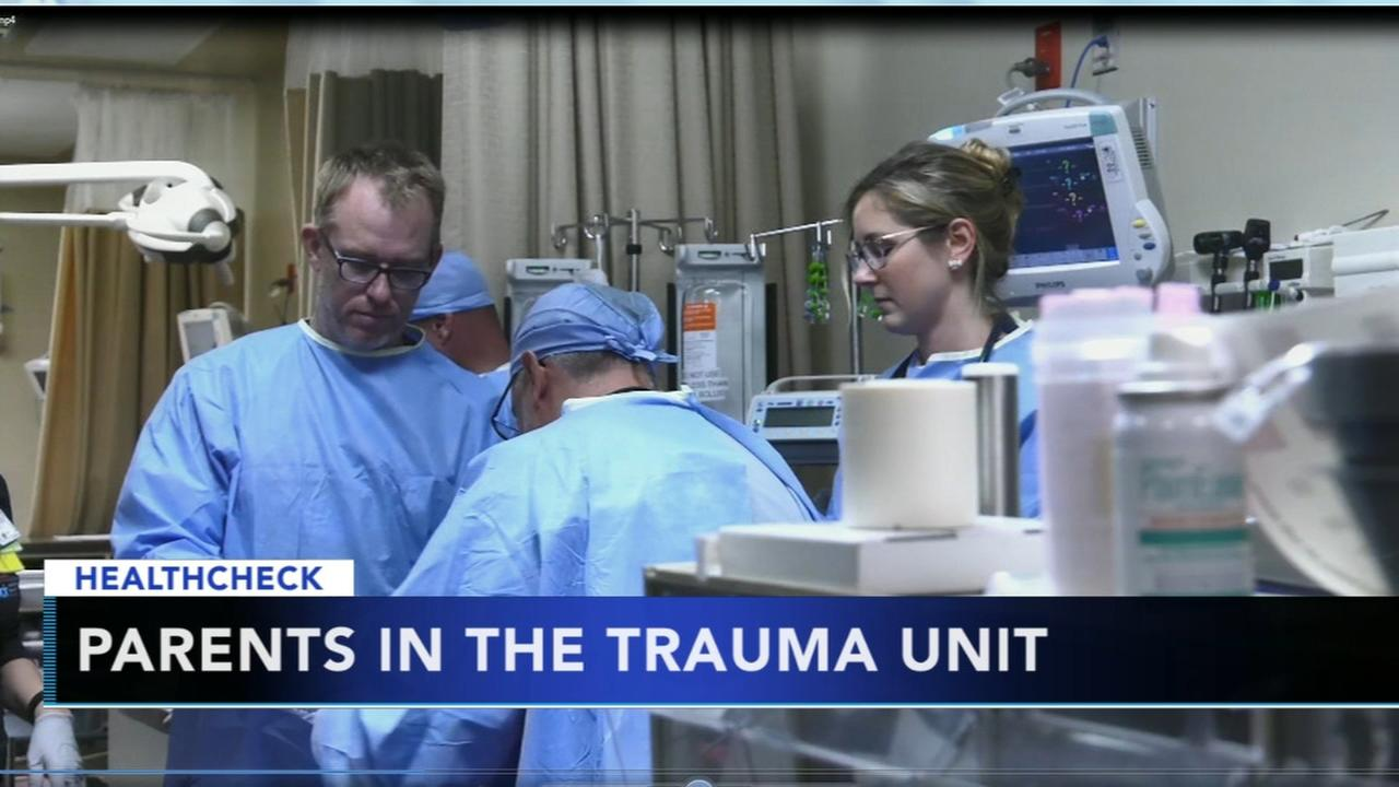 Push to allow parents in trauma room with children