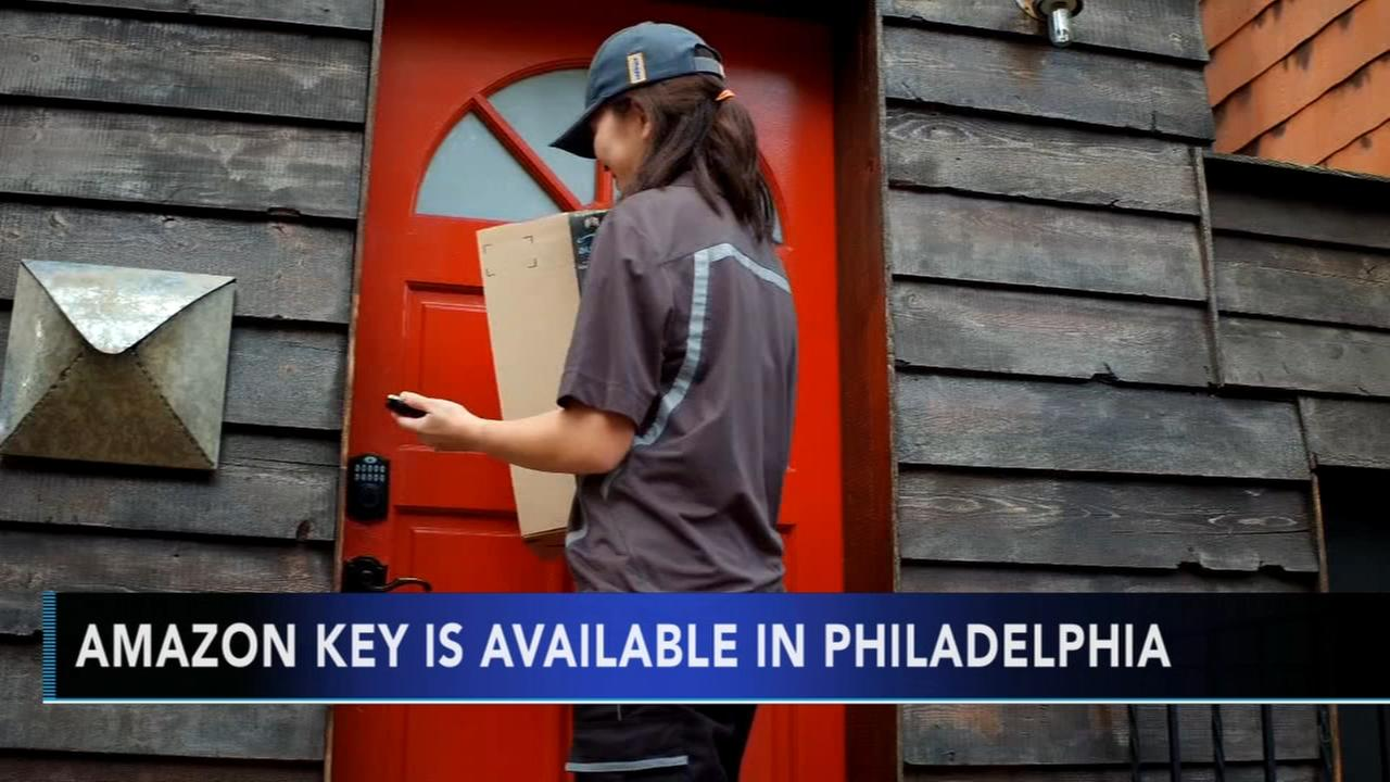 Amazon Key is available in Philly